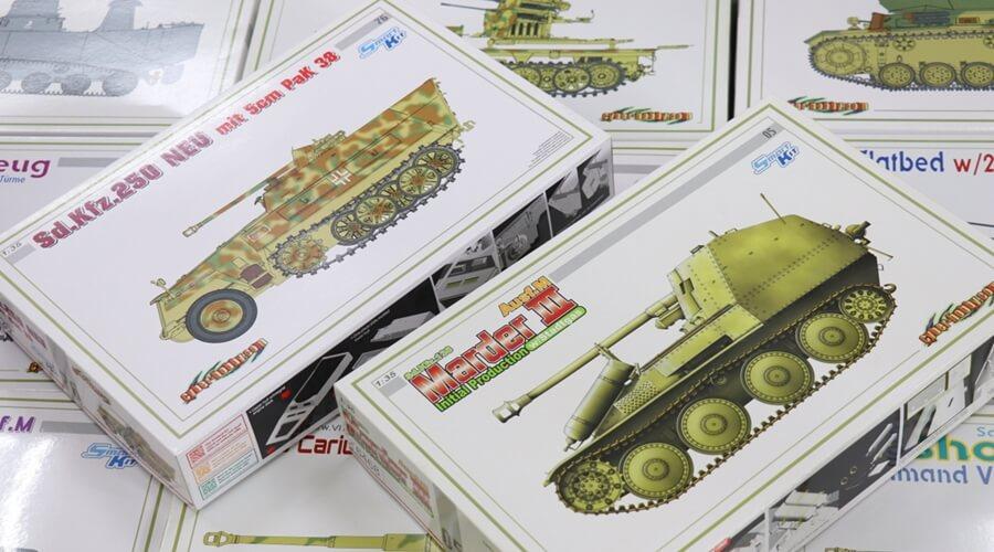 千葉県より【パンダモデル・サイバーホビー・ハセガワ・MENG・など】戦車プラモ大量お買取りしました!