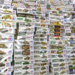 神奈川県川崎市よりタミヤ ミリタリープラモ【戦車系 買取参考価格 約2,000円~450円】をお買取させていただきました